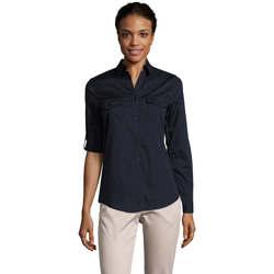 Textil Mulher camisas Sols BURMA MODERN STYLE Azul