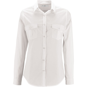 Textil Mulher camisas Sols BURMA WOMEN Blanco