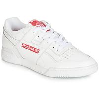 Sapatos Sapatilhas Reebok Classic WORKOUT PLUS MU Branco / Vermelho