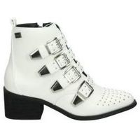 Sapatos Mulher Botins Coolway Botins  juno moda jovem branco blanc