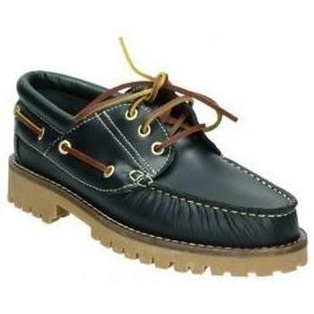 Sapatos Mulher Mocassins Molina Sapatos  20400 senhora azul bleu