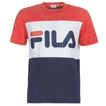 Textil Homem T-Shirt mangas curtas Fila MEN DAY tee Marinho / Vermelho / Branco
