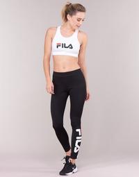 Textil Mulher Collants Fila FLEX LEGGINGS Preto