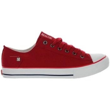 Sapatos Mulher Sapatilhas Big Star DD274339 Vermelho