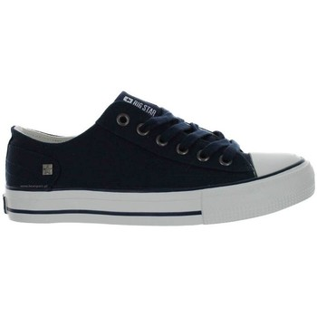 Sapatos Mulher Sapatilhas Big Star DD274335 Azul marinho