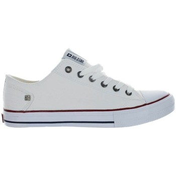 Sapatos Mulher Sapatilhas Big Star DD274336 Branco