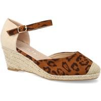 Sapatos Mulher Alpargatas H&d HD-280 Leopardo