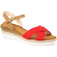 Sapatos Mulher Sandálias Suncolor 810-7 Rojo