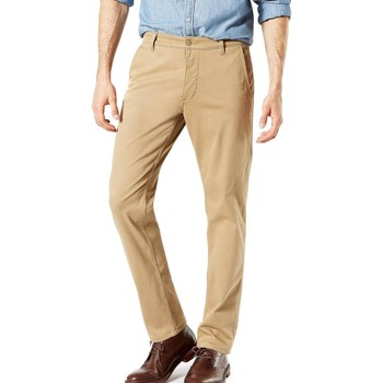 Textil Homem Chinos Dockers SUPREME FLEX TAPERED Beige