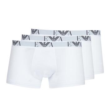 Roupa de interior Homem Boxer Emporio Armani CC715-111357-16512 Branco