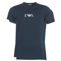 Textil Homem T-Shirt mangas curtas Emporio Armani CC715-111267-27435 Marinho