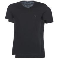 Textil Homem T-Shirt mangas curtas Emporio Armani CC722-111648-07320 Preto