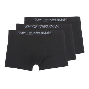Roupa de interior Homem Boxer Emporio Armani CC722-111610-21320 Preto