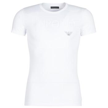 Textil Homem T-Shirt mangas curtas Emporio Armani CC716-111035-00010 Branco
