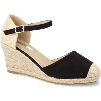 Sapatos Mulher Alpargatas Laik CH921 Negro