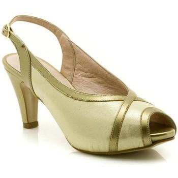 Sapatos Mulher Sandálias Paco Román 19501 Ouro