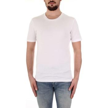 Textil Homem T-Shirt mangas curtas Selected 16057141 Branco