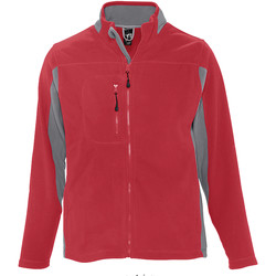 Textil Homem Casaco polar Sols NORDIC POLAR MEN Rojo