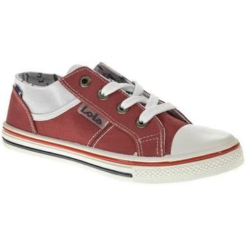 Sapatos Rapaz Sapatilhas Lois 60089 vermelho