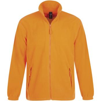 Textil Homem Casaco polar Sols NORTH POLAR MEN Naranja