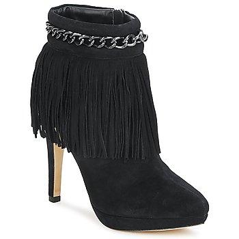 Sapatos Mulher Botins Bourne SANDY Preto