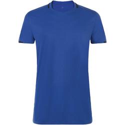 Textil Homem T-Shirt mangas curtas Sols CLASSICO SPORT Azul