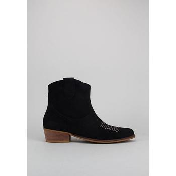 Sapatos Mulher Botins Bryan CALIOPE BORDADO Preto