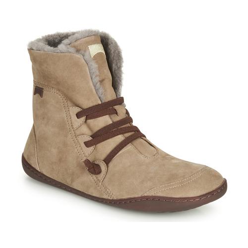 Sapatos Mulher Botas baixas Camper PEU CAMI Bege