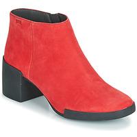 Sapatos Mulher Botins Camper LOTTA Vermelho