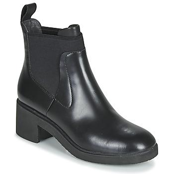 Sapatos Mulher Botas baixas Camper WONDER CHELSEA Preto