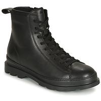 Sapatos Homem Botas baixas Camper BRUTUS Preto