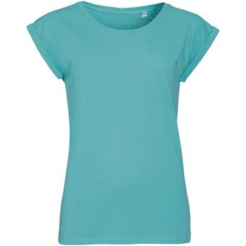 Textil Mulher T-Shirt mangas curtas Sols MELBA Azul