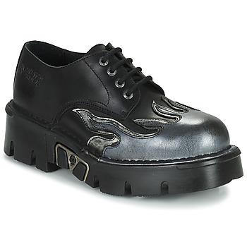 Sapatos Homem Sapatos New Rock M-1553-C3 Preto