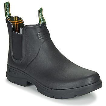 Sapatos Homem Botas de borracha Barbour FURY CHELSEA Preto