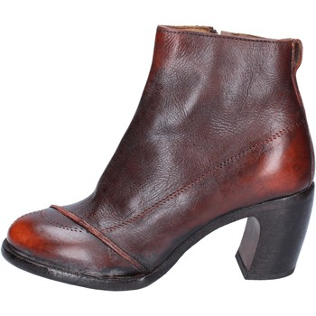 Sapatos Mulher Botins Moma BS433 laranja