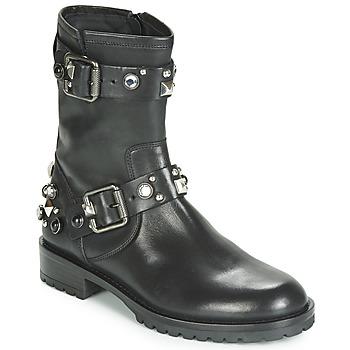 Sapatos Mulher Botas baixas Tosca Blu GISELLE Preto