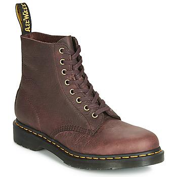 Sapatos Homem Botas baixas Dr Martens 1460 PASCAL Castanho