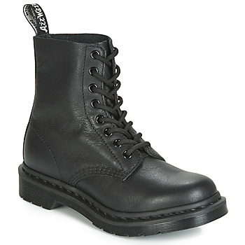 Sapatos Mulher Botas baixas Dr Martens 1460 PASCAL MONO Preto