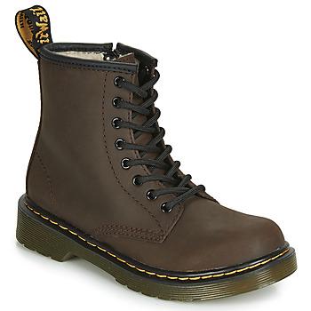 Sapatos Criança Botas baixas Dr Martens 1460 SERENA JUNIOR Castanho