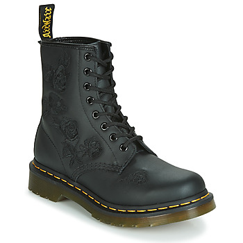Sapatos Mulher Botas baixas Dr Martens 1460 VONDA MONO SOFTY T Preto