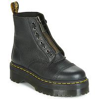 Sapatos Mulher Botas baixas Dr Martens SINCLAIR AUNT SALLY Preto