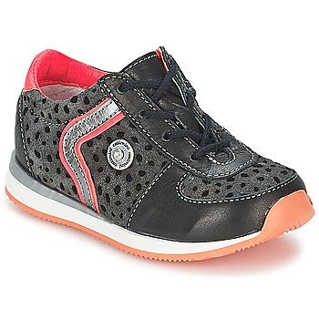 Sapatos Rapariga Botas baixas Catimini CISTUDE Preto / Fúchsia