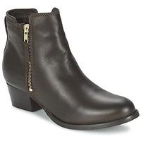Sapatos Mulher Botas baixas Shoe Biz ROVELLA Castanho