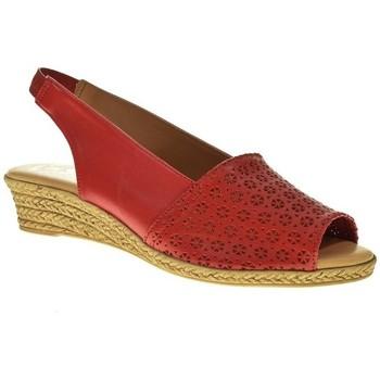 Sapatos Mulher Sandálias Duendy 602B Rojo