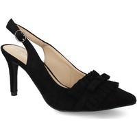 Sapatos Mulher Escarpim Kisskiss M1676 Negro