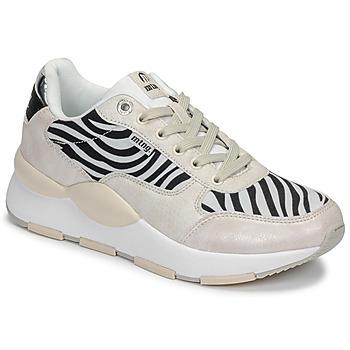 Sapatos Mulher Sapatilhas MTNG 69867-C47433 Preto / Branco