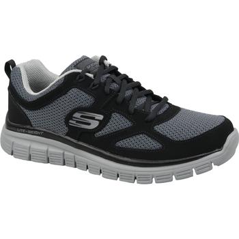 Sapatos Homem Sapatilhas Skechers Burns Agoura 52635-BKGY