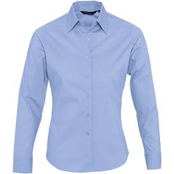 Textil Mulher camisas Sols EDEN ELEGANCE Azul