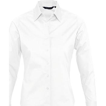 Textil Mulher camisas Sols EDEN ELEGANCE Blanco