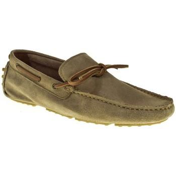 Sapatos Homem Mocassins Urbanfly 8315 castanho